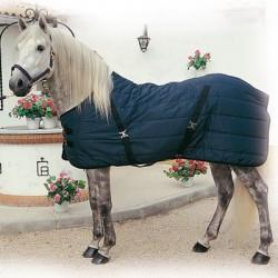 Manta de invierno impermeable con cinchuelos cruzados