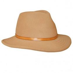 Sombrero Paño cinta cuero