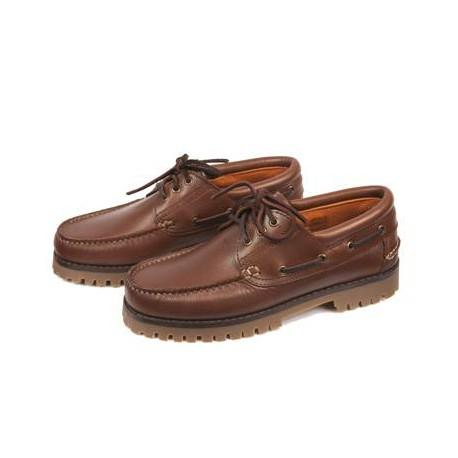 Zapato Nautico Cuero Zaldi