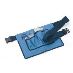 Cinturon Especial Para Trenzado Azul