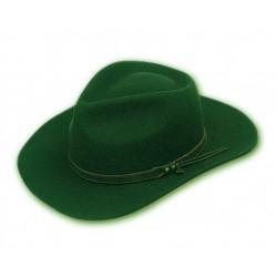 Sombrero australiano. Fieltro impermeable