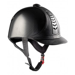 Casco Tattini revestido Carbon Look
