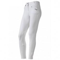 Pantalón Daslo de Mujer Blanco Pantorillas