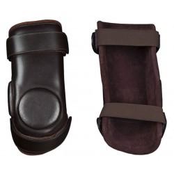 Protector Rodilla Cuero con Velcro