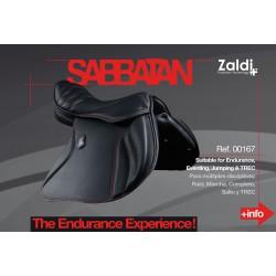 Silla Zaldi Endurance Sabbatan