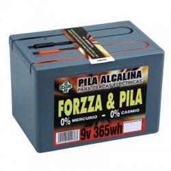 Pila Pastor modelo FORZZA 9 V. 365 W. Alcalina