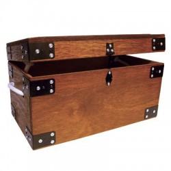 Caja para útiles de limpieza madera Stubb s56
