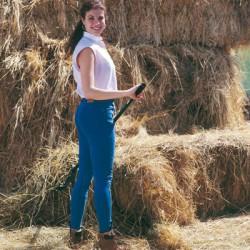 Pantalones Vaqueros montar Bi-Elastic señora