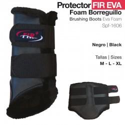 Protector Fir Eva Foam Borreguillo Negro