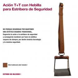 Acion Vaquera 2G Tradicional + Hebilla Seguridad
