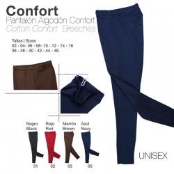 Pantalón algodón Confort. Unisex