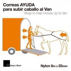 Correas ayuda para caballo