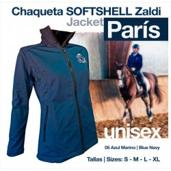 Chaqueta Softshell Zaldi Paris