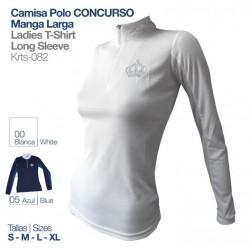 Camisa-Polo Concurso M/larga