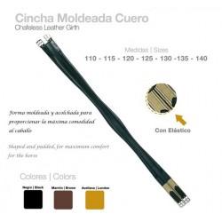 """Cincha Moldeada Cuero con Elástico """"Castecus"""""""