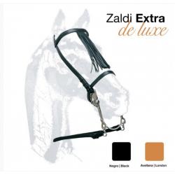 "Cabezada Vaquera ""Zaldi-Extra"" labrada"