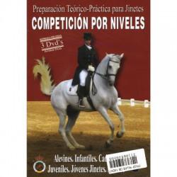 Preparación Teórico-Práctica para Jinetes: Competición por niveles (pack 3 unidades)