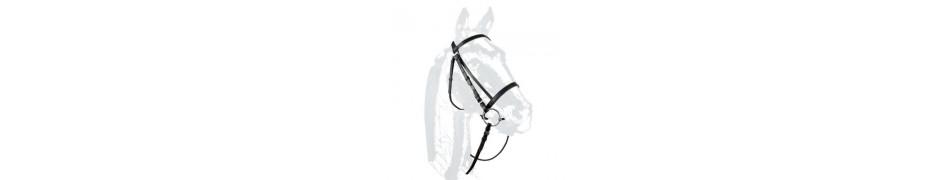 Cabezadas de montar inglesas para caballos a precios bajos