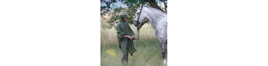 Impermeables y ponchos de equitacion